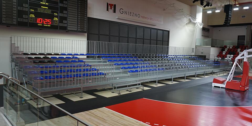 Wypożyczenie trybun sportowych - Gniezno