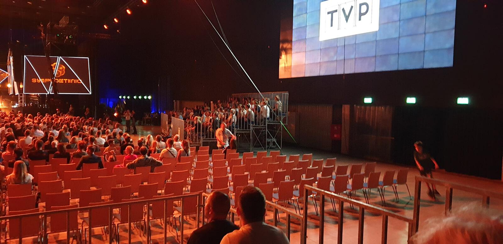 Trybuny sportowe Symphoethnic 2019 Katowice