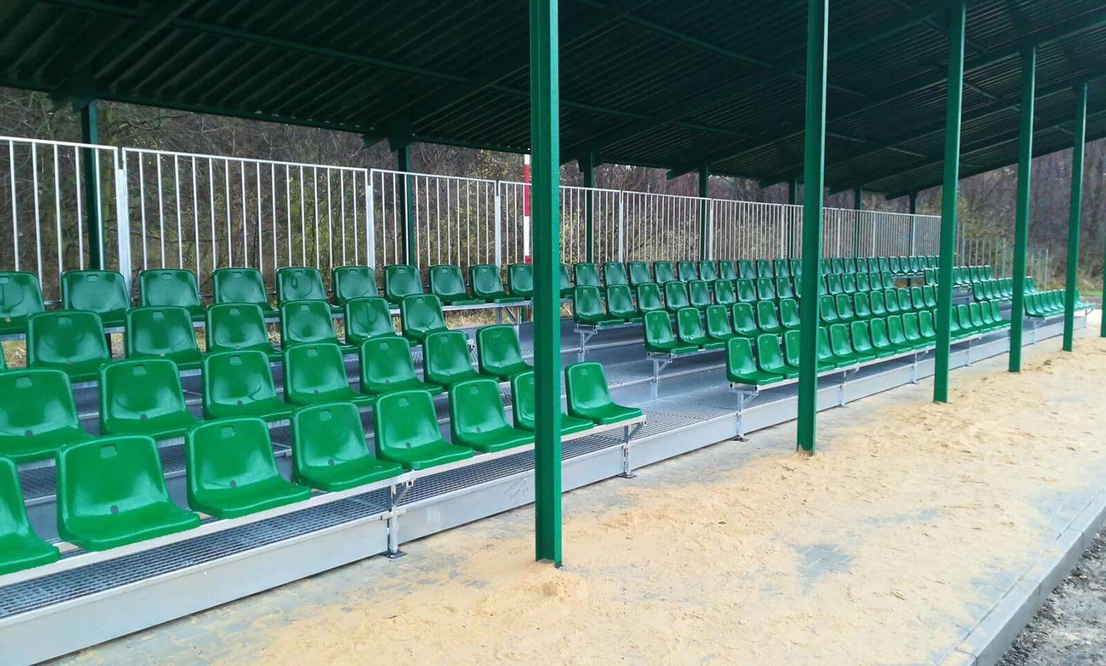 Trybuny piłkarskie dla LKS Legion - Bydlin - Małopolska